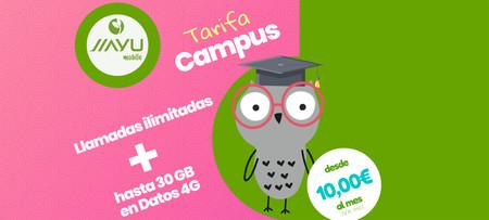 Jiayu Mobile lanza las tarifas Campus para universitarios con hasta 30 gigas de datos por 20 euros al mes