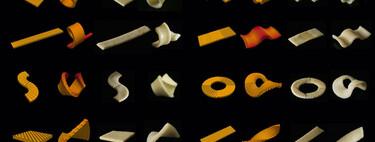 Científicos crean una pasta que cambia de forma al cocinarse para obtener un empaquetado sostenible y una cocina más ecológica