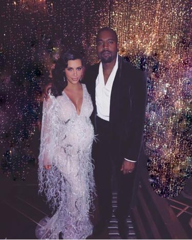 Y Kim Kardashian ya tiene a su Baby West