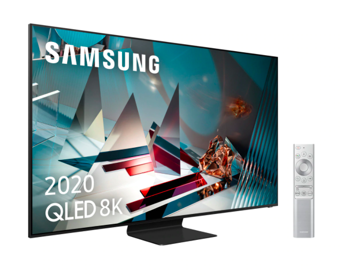 "TV QLED 163 cm (65"") Samsung QE65Q800T con Resolución 8K Real, Inteligencia Artificial 8K, HDR 2000 y Smart TV"