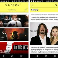 Conoce el significado de las letras de las canciones con Genius para Android