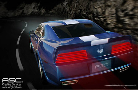 ASC 2010 Pontiac Firebird Trans AM