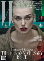 Rooney Mara, Scarlett Johansson, Mia Wasikowska y Keira Knightley, póker de ases en W Magazine