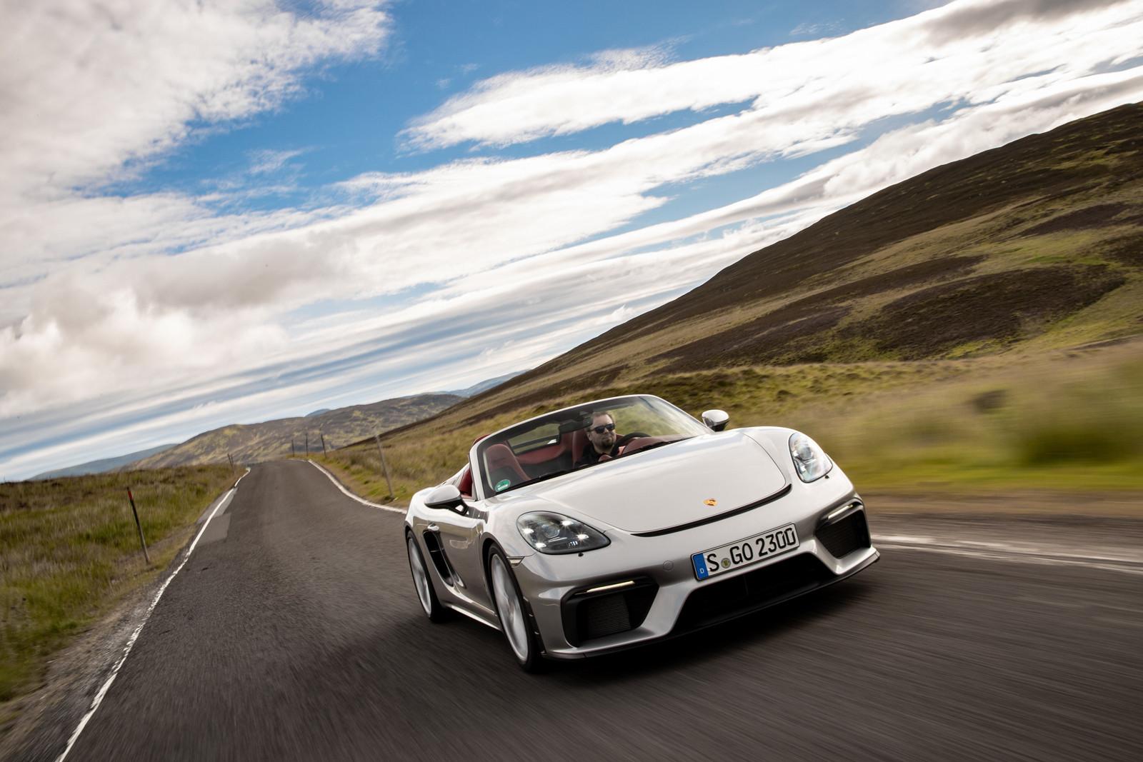 Foto de Porsche 718 Spyder (prueba contacto) (144/296)