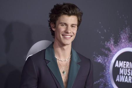 Shawn Mendes enseñando pelo en pecho y otros looks destacables de los Premios Amas 2019