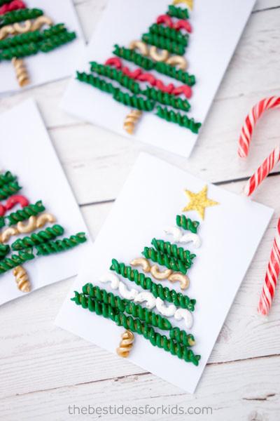 Diy Navidad 18 Arbolito Pasta