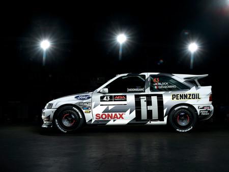 Ken Block vuelve a los rallies... ¡con un  Ford Escort RS Cosworth!