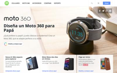 Moto X 2014 en promoción desde la tienda de Motorola México