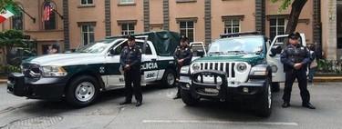 Las nuevas patrullas de la CDMX cuentan con tecnología de detección de rostro y vehículos robados
