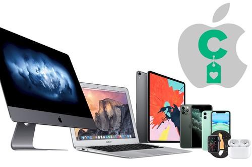 Las mejores ofertas en dispositivos Apple de la semana: comprar un iPhone, un iPad, un Apple Watch o unos Airpods, te sale más barato con nuestra selección semanal