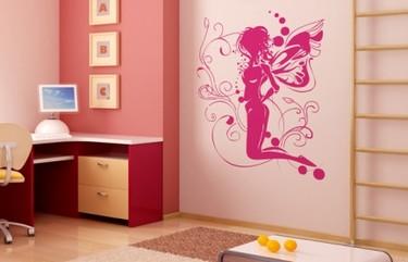 Espectaculares vinilos para habitaciones llenas de fantasía