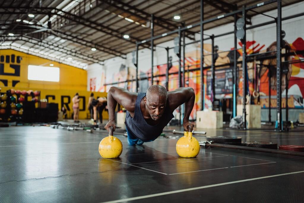 Una rutina de entrenamiento fácil y rápida, perfecta para los días en que no estás motivado