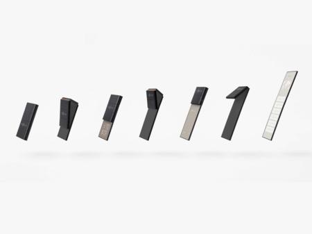 OPPO slide-phone: el concepto de smartphone plegable que puede doblarse en distintos tamaños para diferentes tareas