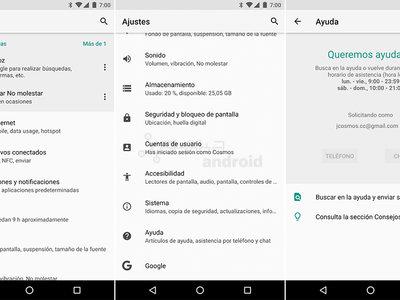 Así son los renovados y reorganizados ajustes de Android O