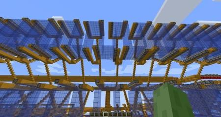 Disco duro de 1KB en Minecraft