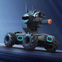 Robomaster S1: el robot para aprender a programar con torreta que lanza rayos infrarrojos y bolas de gel