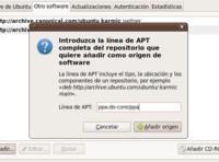 Mejoras para añadir nuevos repositorios PPA en Ubuntu Karmic Koala