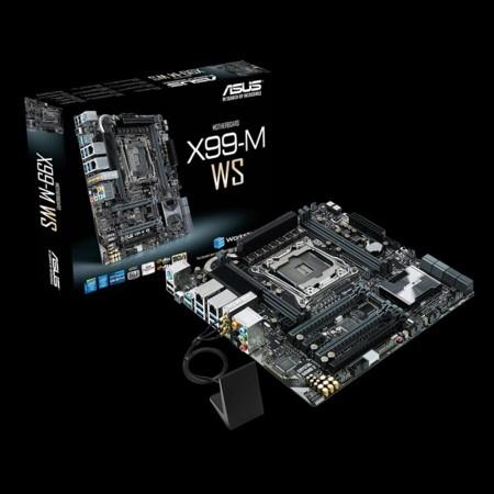 ASUS X99M-WS, motherboard para armar una potente y compacta workstation