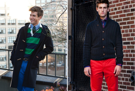 Gant American Style lookbook Otoño/Invierno 2012