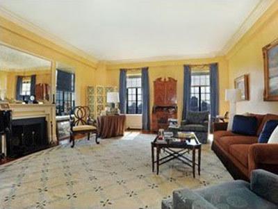 El salón de Alec Baldwin.