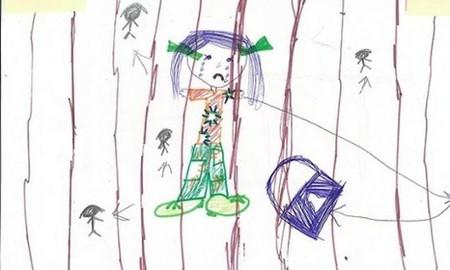 Para hacernos una idea de la situación de los niños retenidos en Christmas Island, basta con ver sus dibujos