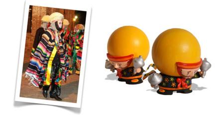 Parachico, danzante de la feria de Chiapa de Corzo