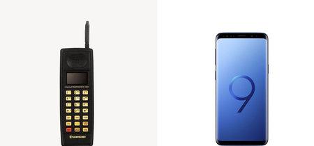 Del SH-100 al Galaxy S9: 13 teléfonos clave para los 30 años de Samsung en el móvil