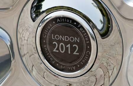 Llanta Rolls-Royce Phantom Juegos Olimpicos Londres 2012