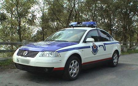 Volkswagen Passat policial