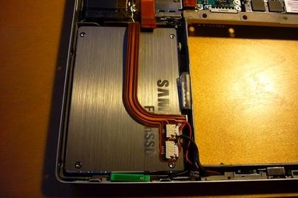 Macbook Pro con el nuevo disco duro de Samsung 64GB FalshSSD