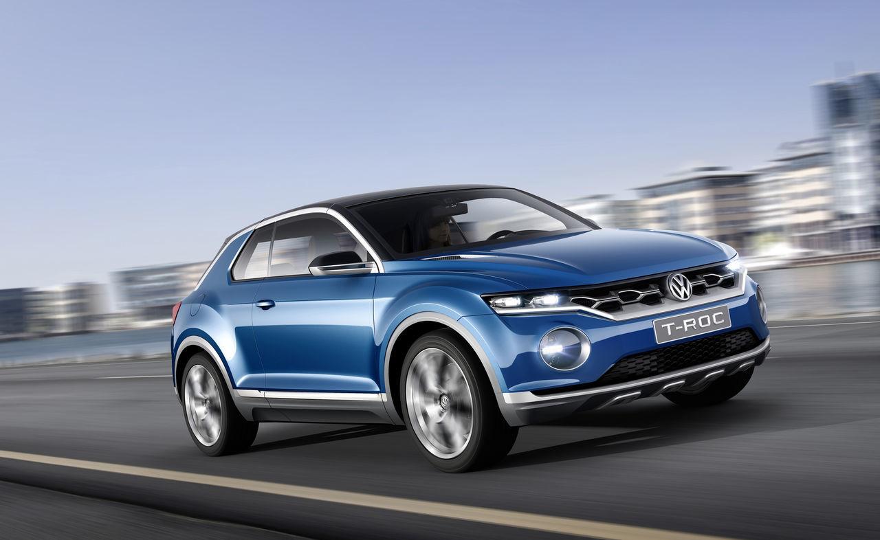 Foto de Volkswagen T-ROC Concept (8/22)