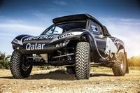 Primeras imágenes del nuevo buggy de Nasser Al-Attiyah para el Dakar 2014