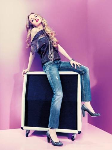Foto de Lindsay Lohan para Fornarina Otoño-Invierno 2009/2010 (1/12)