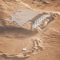 Nüwa busca ser la ciudad marciana del futuro: así quiere acoger a 250.000 habitantes en Marte