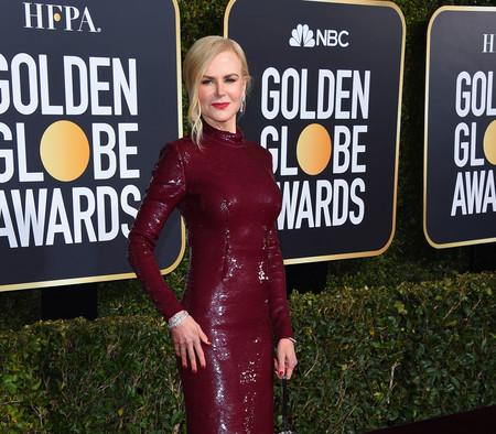 Globos de Oro 2019: Nicole Kidman se apunta a la tendencia de las lentejuelas