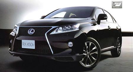 Primeras imágenes del Lexus RX 2012