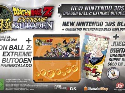 Dragon Ball Z: Extreme Butoden también vendrá en pack con la New Nintendo 3DS