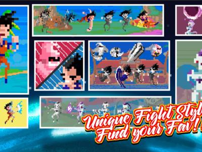 Creepy Ball Pixel, batallas locas de Dragon Ball en formato Pixel art para móviles