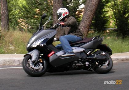 Prueba de la Yamaha TMAX 500 (1/4)
