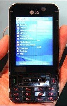 LG KC1 con Windows y WiMax
