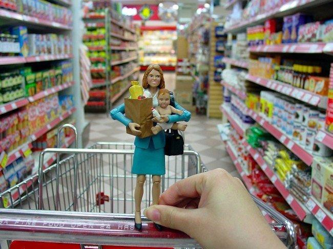 Supermercado con bebé