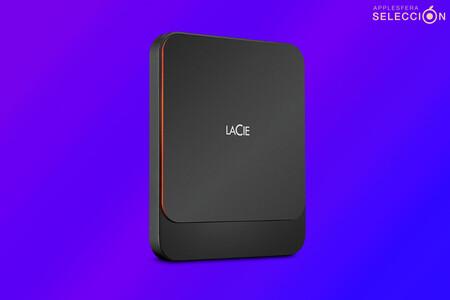 Copias de seguridad de tu Mac a alta velocidad con el SSD portátil LaCie de 1 TB a 103,36 euros, más barato que nunca en Amazon