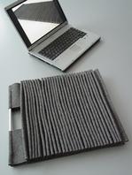 Bolsa de portatil plisada