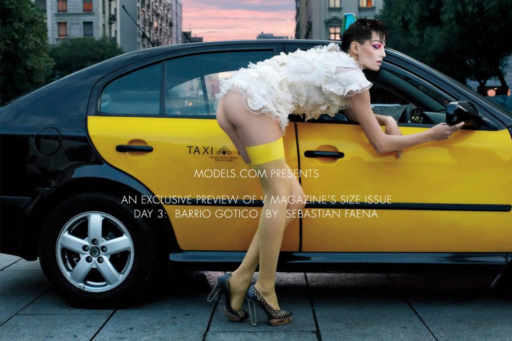 Foto de ¿Barcelona fomenta el desnudo en público? Una vergüenza de editorial con Iris Strubegger desnuda (2/8)
