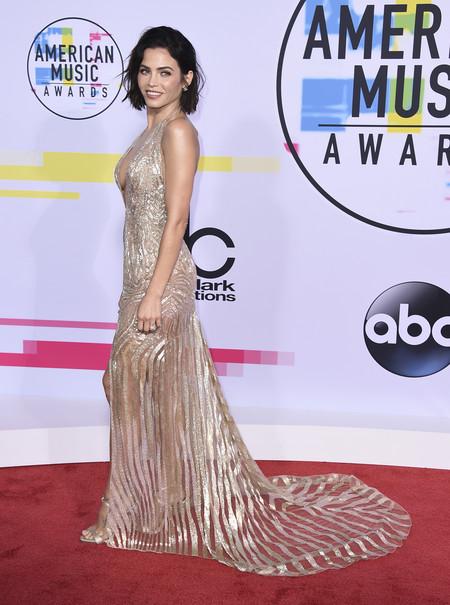mejor vestidas american music awards 2017 jenna dewan tatum
