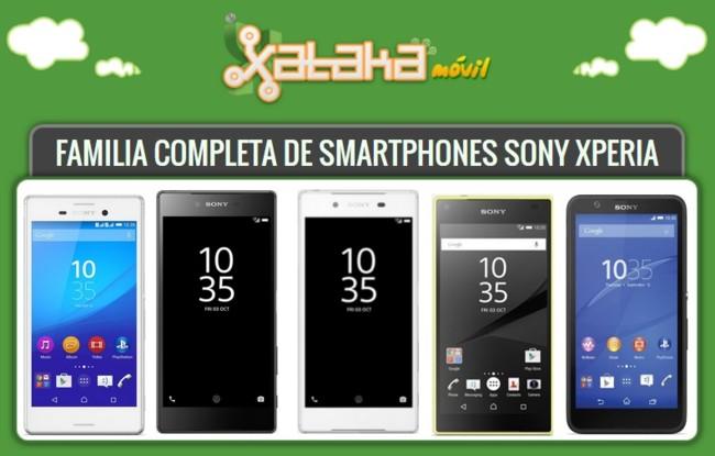 Smartphones Sony Xperia