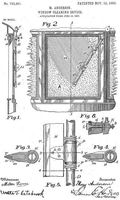 Patente Mary Anderson