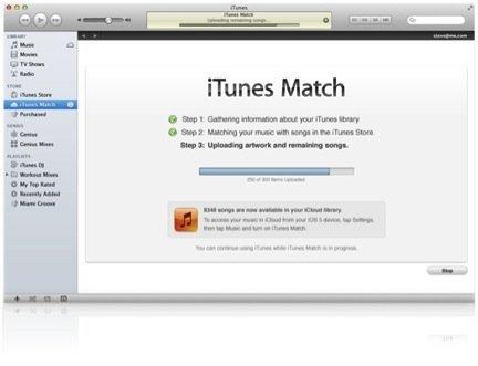 Apple lanza de forma oficial iTunes Match en España