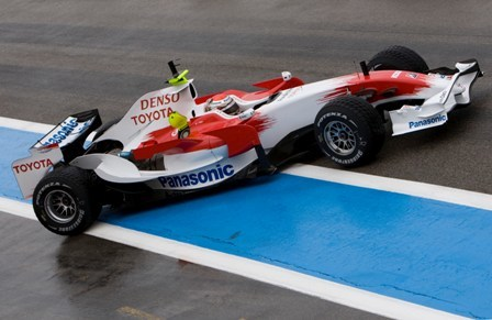 Jarno Trulli, el más rápido en el último día en el Paul Ricard