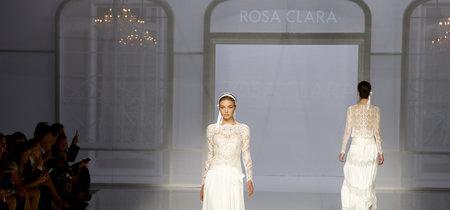 Desfile de Rosa Clará colección 2018: se lleva la novia romántica